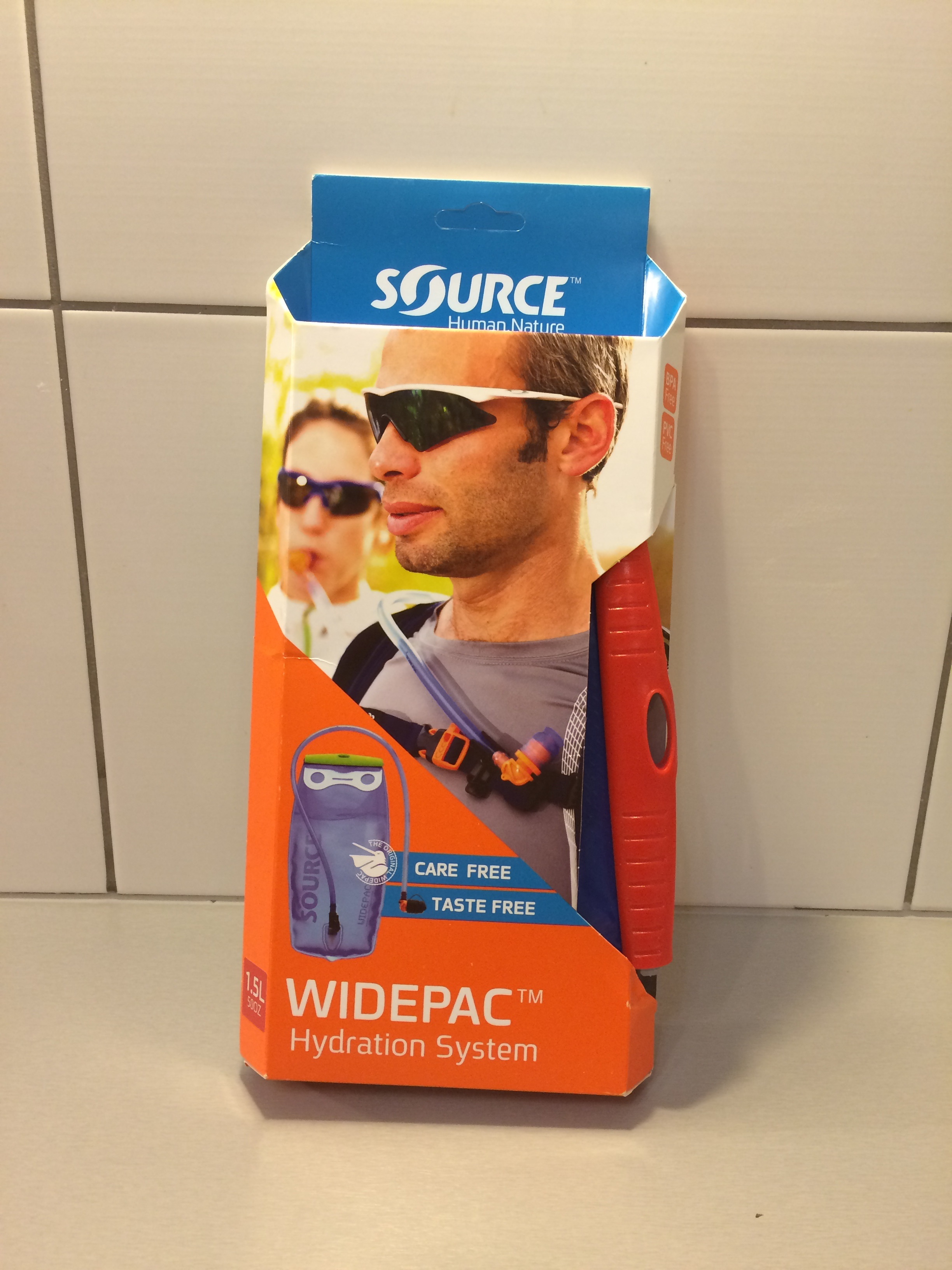 Source Widepac 1,5L vak na vodu