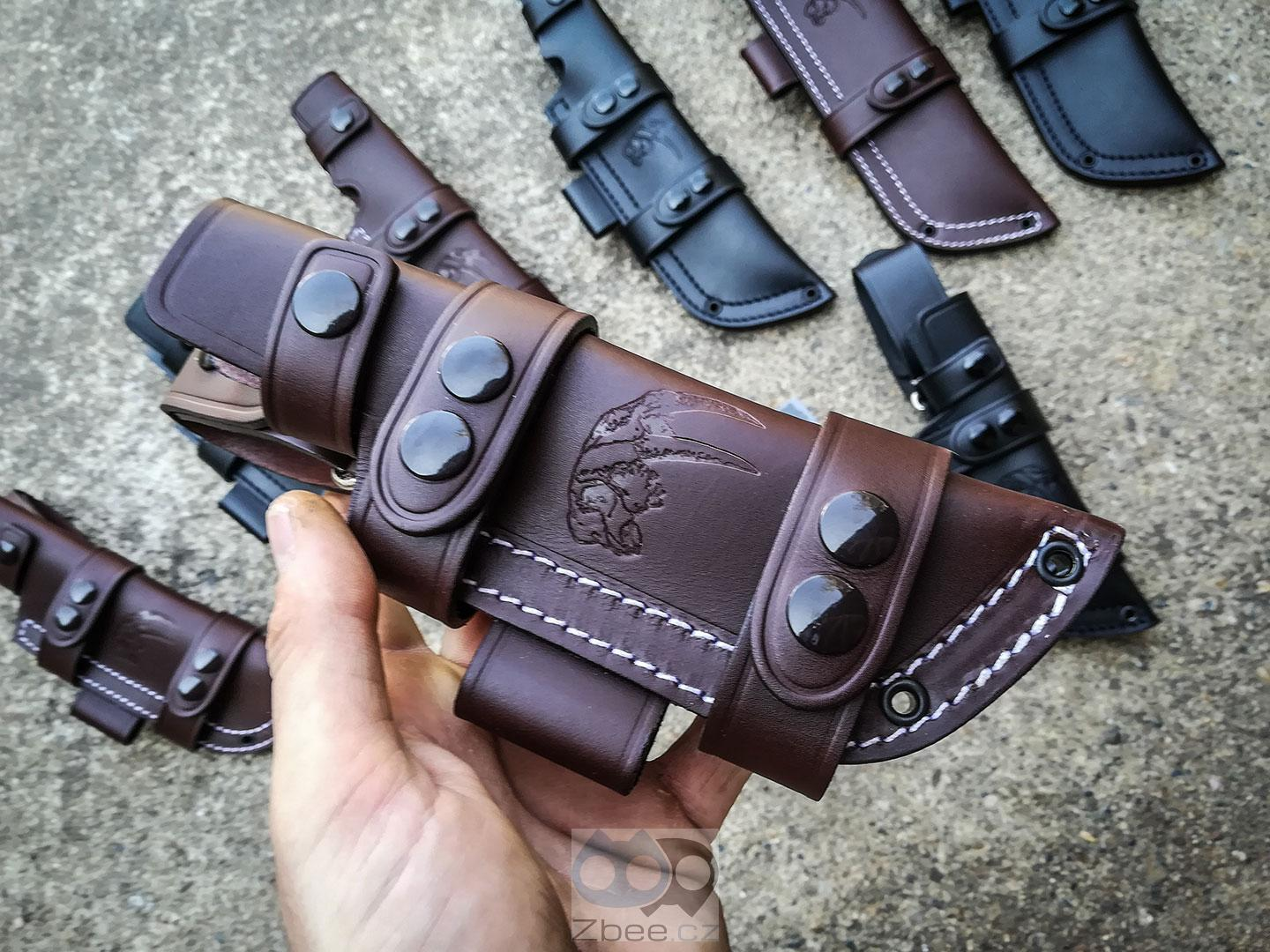 Wander Tactical Leather Sheath - pouzdro